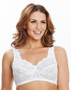 2Pack Non Wired Back Smoothing White Bra