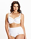 Ruby Full Cup Wired White Bra
