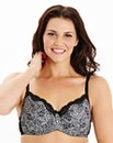 2 Pack Minimiser Wired Black/White Bras