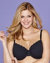 Minimiser Wired Black Bra