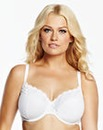 Wired White Minimiser Bra