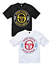 Sergio Tacchini Pack of Two T-Shirts