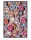 Love Hearts Printed Rug