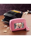 Ladies Pink & Black Purse Set