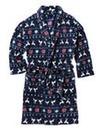 Jacamo Fairisle Print Dressing Gown
