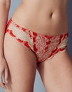 Panache Clara Red/Gold Briefs