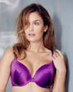 Gossard Everyday Dotty Plunge Purple Bra