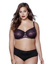 Ashley Graham Mesh/Lace Plunge Bra