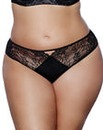Ashley Graham Microlace Thong