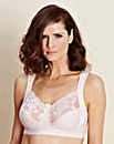 Miss Mary Non Wired Pink Bra