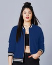 Simply Be Jersey Bomber Jacket