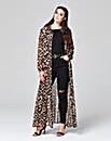 Simply Be Leopard Print Maxi Shirt Dress