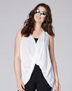 Simply Be Twist Front Vest