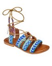 Sole Diva Beaded Sandals E Fit