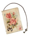 Small Rose Notebook