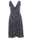 Praslin Bow Print Swing Dress