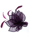 Petal Effect Hair Comb Fascinator