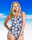 Beach To Beach Tropical Bandeau Swimsuit