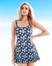MAGISCULPT The Flatter Me Swimdress Long