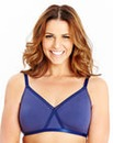 2 Pack Non Wired Burgundy Navy Bras