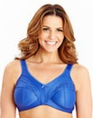 2Pack Non Wired Minimiser Bras Blue/Nat