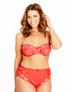 Ava Largest Multiway Wired Red Bra