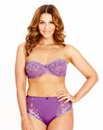 Ava Largest Multiway Wired Purple Bra