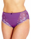 Shapely Figures Purple Ava Knicker
