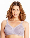 2 Pack Non Wired Lilac White Dotty Bras