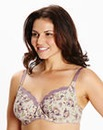 2 Pack Full Cup Wired Purple Print Bras