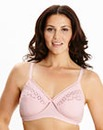 2Pack Cotton Rich NonWired Nat/Pink Bras