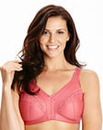 2 Pack Minimiser Non Wired Rose/Nat Bras