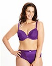 2Pack Plunge Wired Rose Purple Bras
