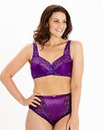 2 Pack Full Cup NonWired Rose/Purple Bra