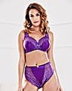 2 Pack Ella NonWired Rose/Purple Bras