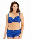 Daisy Lace Full Cup Non-Wired Cobalt Bra