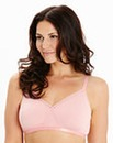 2 Pack Non Wired Natural/Pink Bras