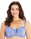 2 Pack Balcony Black/Blue Olivia Bras