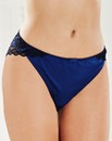 2 Pack Low Rise Natural/Navy Briefs