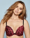 Super Plunge Wired Leopard Print Bra