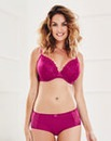 2 Pack Ava Plunge Wired Rasp/Mocha Bras