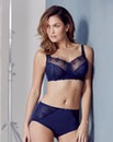 2 Pack Florence Non Wired Navy/Blue Bra