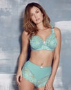 2 Pack Ella Lace Full Cup Aqua/Navy Bras