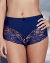 2 Pack Ella Lace Aqua/Navy Briefs