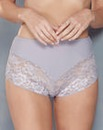 2 Pack Ella Lace Pink/Grey Briefs
