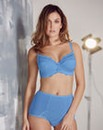 Ruby Half Padded Wired Cornflower Bra