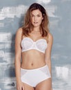 Florence Multiway Wired White Bra
