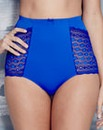 Cobalt Geo Lace Full Fit Briefs
