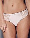 Satin&Lace Brazillian Black(Nat) Briefs