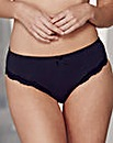 2 Pack Sophie MidRise Black/White Briefs